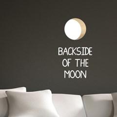 달의 뒤편 예쁜 일러스트 레터링 인테리어 스티커