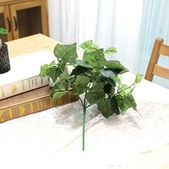 지피식물 그린테리어 가드닝 고급조화 포도잎 부쉬_(2495446)