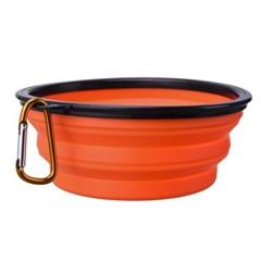 PH 접이식 강아지밥그릇 고양이식기 사료 밥 물 그릇