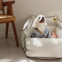 [스윙도츠] 홈카시트 체크퍼 편안한 중형견 강아지 카시트