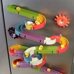 레츠토이 워터슬라이드 66pcs 레일 장난감 유아 목욕놀이