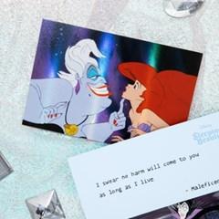 [디즈니] 홀로그램 엽서_빌런