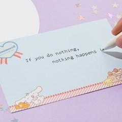[Sanrio] 시나모롤 홀로그램 엽서