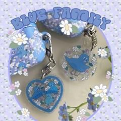 [뮤즈무드] Blue Family key ring (키링)