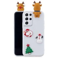 샤오미 홍미노트8T 크리스마스 3D패치 메리케이스