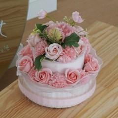 대형 2단 돈케이크 현금 용돈케이크 완제품 돈다발 용돈 케이크 케익