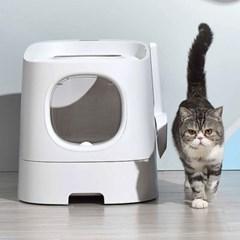 손담비 고양이화장실 퍼스트클래식+스마트클린 캣똥 냄