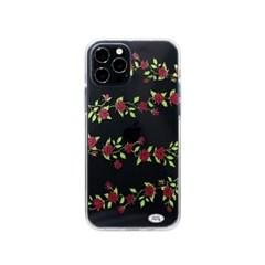 Rose vine phone case