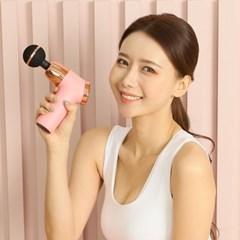 슈팅스타 미니건 핑크 무선 휴대용 안마기 BLDC모터 핸_(1218283)