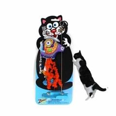 흡착식 스왓앤스윙 캣닢 고양이장난감 낚시대 날치