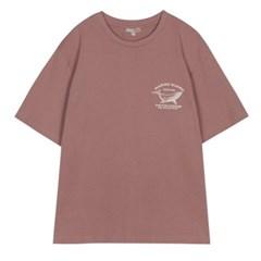 [에코] 모노 드로잉 반팔 티셔츠 SPRPA24C13