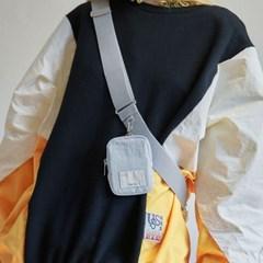 FENNEC FABRIC SLING BAG POCKET - FOG BLUE