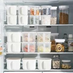 냉장고 핸들형 양념통 보관용기 2size