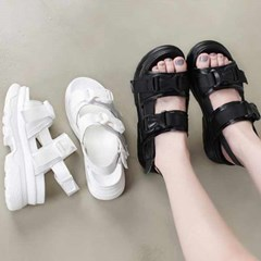 kami et muse Clip belt strap tall up sandals_KM21s125
