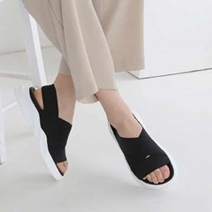 kami et muse Elastic band strap sandals_KM21s124