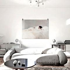 패브릭 포스터 화이트 침구 침실 그림 액자 호아킨 소로야 15
