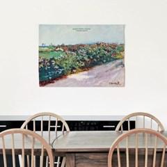 패브릭 포스터 풍경 꽃밭 꽃 그림 액자 호아킨 소로야 13