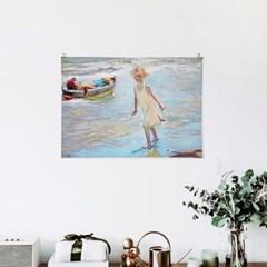 패브릭 포스터 바다 빈티지 미드센츄리 그림 액자 호아킨 소로야 9