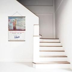 패브릭 포스터 바다 미드센츄리 모던 그림 액자 호아킨 소로야 6
