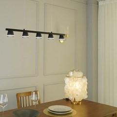 벨 LED 갓등 블랙 국산 식탁등 조명