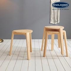 어비스 원목 의자 2EA(택배)
