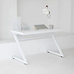 게이밍 멀티 화이트 1인용 컴퓨터 책상+모니터테이블+타공판
