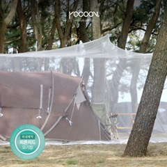 국내제작 300x400x180 화이트 WHITE 코쿤 피톤치드 야외 사각모기장