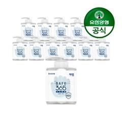 [유한양행]해피홈 SAFE365 겔타입 손소독제 500mL 12개