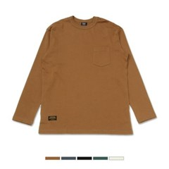 포켓 솔리드 티셔츠 SPLW912C03