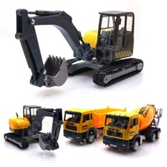 볼드웨이 건설중장비 시리즈  포크레인 레미콘 트럭