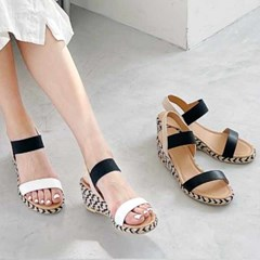 kami et muse Espadrille wedge sandals_KM21s129