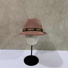 그레이 챙넓은 꾸안꾸 데일리 중절모 페도라 모자