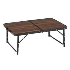 로고스 블랙 우드 접이식 캠핑 테이블 900 73188042
