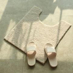 에어로실버 건식 욕실 변기 항균발매트 55X60 / 6color_(1390103)