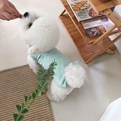 [펫츠랜드] 마시멜로 나시티 강아지옷 애견의류 강아지티셔츠