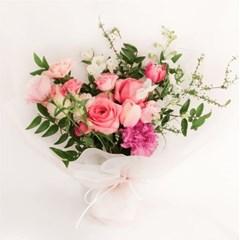 [꾸까] 사랑을 가득 담은, 로맨틱 핑크 꽃다발