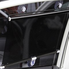 차량용 햇빛가리개(전후유리용) /흡착식 차량커튼