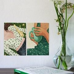 다시,봄 엽서 (RM 330001_4종 세트)