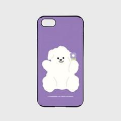 purple flower 뽀꾸 [카드슬라이드 폰케이스]_(1027165)