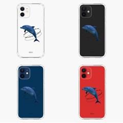 [범퍼케이스] Dolphins are not free - 갤럭시
