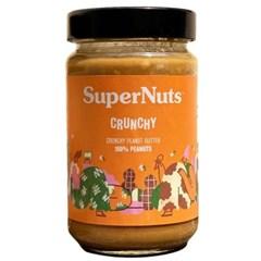 슈퍼너츠 땅콩 100% 피넛 버터 300g 크런치 잼 쨈 스프레
