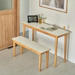 엠비오 원목 HPM 1200 슬림 테이블