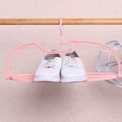 베개 신발 바지 건조 360°폴딩 받침대옷걸이 6개세트