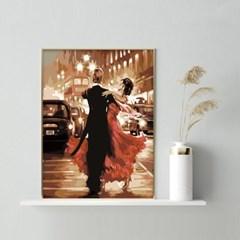 거리 속 두 커플 DIY명화그리기 유화그리기세트_(2560250)