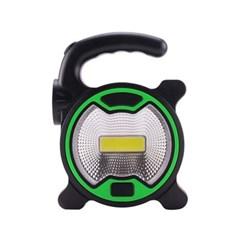 파워킹 COB LED 고휘도 라이트 캠핑랜턴 1+1