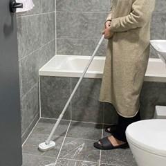청소가 쉬웠솔 청소솔 욕실청소 수세미솔 긴솔