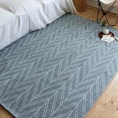 셔닐리프 패턴 러그 카페트 170x230