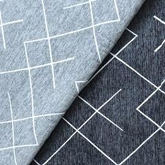 셔닐라인 패턴 러그 카페트 100x150