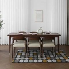 [헤리티지월넛] ACR1형 식탁/테이블 세트 2100_(1727097)