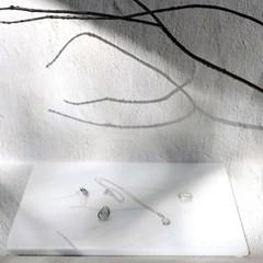 마블 대리석 트레이 촬영소품 화장대정리